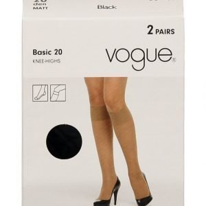 Vogue Basic 20 Den Polvisukat 2-Pack