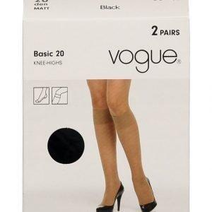 Vogue Basic 20 Den Polvisukat 2-Pack