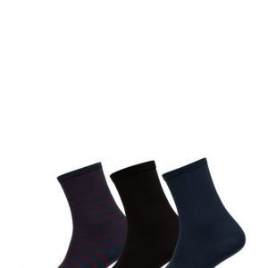 Vogue Ladies Anklesock Breton 3-Pack nilkkasukat