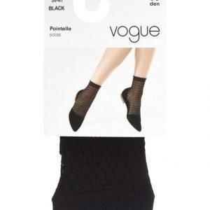 Vogue Pointelle 50 Den Nilkkasukat