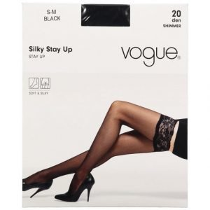 Vogue Silky Stay Up 20 Den Sukat