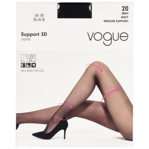 Vogue Support 3d 20 Den Tukisukkahousut