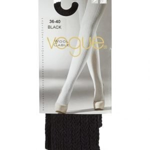 Vogue Wool Cable Sukkahousut