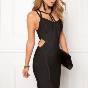 WOW COUTURE Strappy Bandage Shaping Black