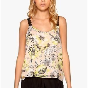 WYLDR Cassie top Yellow Floral