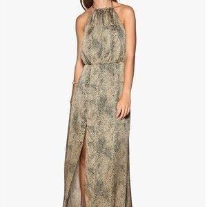 WYLDR Projection Dress Gold/Black Leopard
