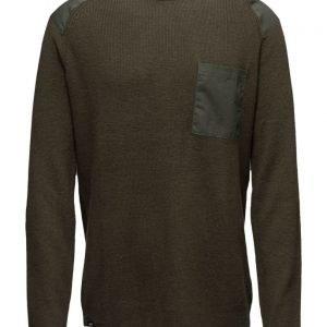 WeSC Aero Men'S Knitted Sweate pyöreäaukkoinen neule