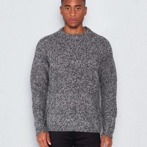 WeSC Aro knitted o-neck grey melange