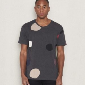 WeSC Benning s/s t-shirt charcoal melange