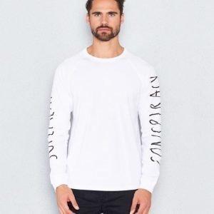 WeSC Bente l/s t-shirt white