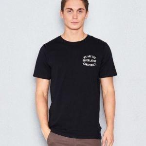 WeSC Bowie s/s t-shirt black