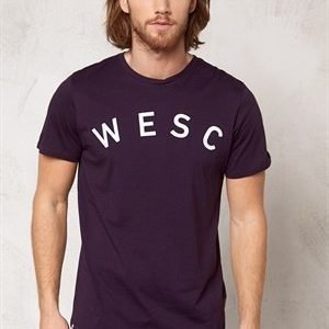 WeSC Coby s/s t-shirt plum perfect 487