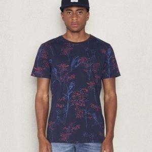 WeSC Dai s/s t-shirt navy blazer