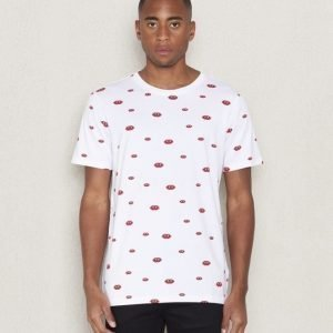 WeSC Duff s/s t-shirt white