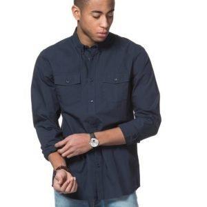 WeSC Ivo L/S Shirt Navy Blazer