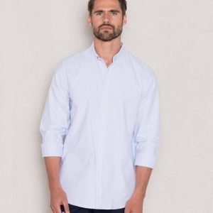 WeSC Mailer L/S Shirt Aquamarine
