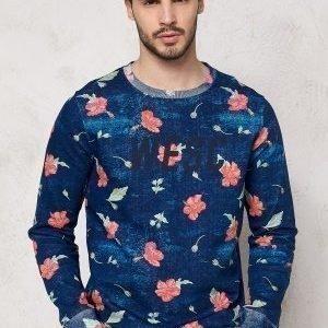 WeSC Martino Sweatshirt Navy Blazer