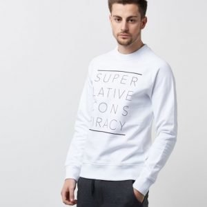 WeSC Marvin Printed White