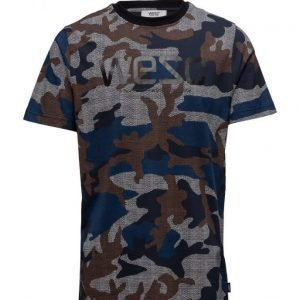 WeSC Max Dot Camo Aop lyhythihainen t-paita
