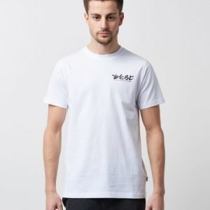 WeSC Max Front & Back Printed White