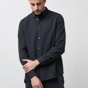WeSC Newton L/S Shirt Black