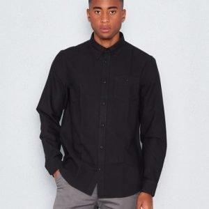 WeSC Oden l/s shirt Black