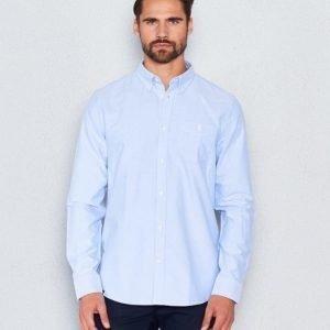 WeSC Oden l/s shirt Polar Blue