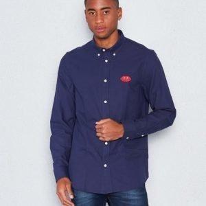WeSC Ogen l/s shirt navy blazer