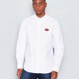 WeSC Ogen l/s shirt white