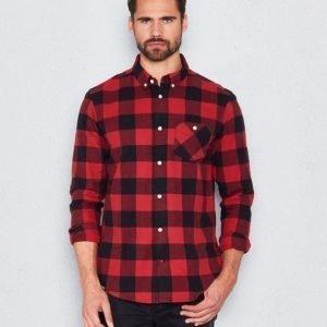 WeSC Olavi l/s shirt candy apple