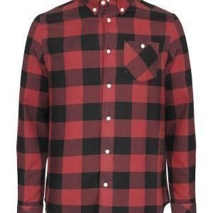 WeSC Olavi l/s shirt relaxed Candy apple