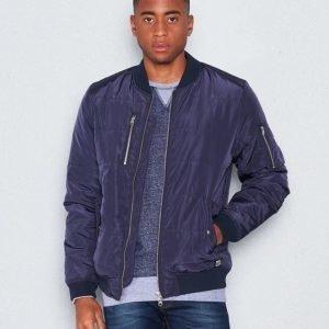 WeSC Race padded jacket Navy blazer