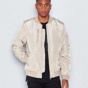 WeSC Race padded jacket Vintage Khaki