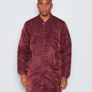 WeSC Reese padded coat prune