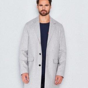WeSC Rock wool coat grey melange