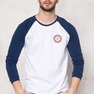 WeSC Trace l/s T-shirt White