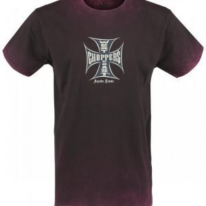 West Coast Choppers Iron Cross Vintage T-paita