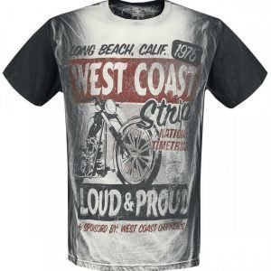 West Coast Choppers The Strip T-paita