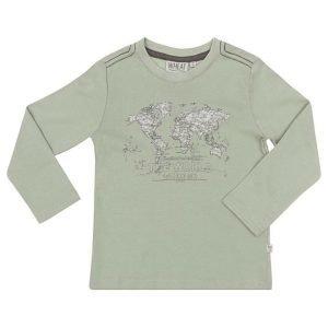 Wheat Map pitkähihainen T-paita