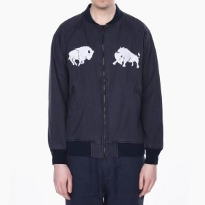 White Mountaineering Buffalo Embroidered Blouson