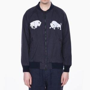 White Mountaineering Buffalo Embroidered Blouson