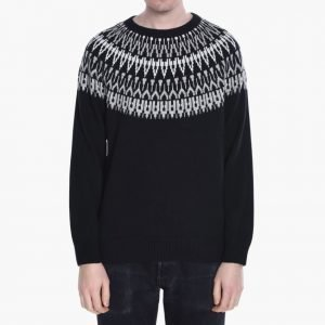 White Mountaineering Knitted Yoke Jacquard