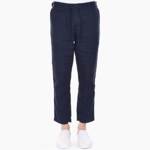 White Mountaineering Linen Herringbone Easy Pants