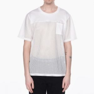 White Mountaineering Mesh Combination T-Shirt