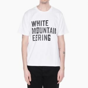 White Mountaineering Printed T-Shirt White Mountaineering