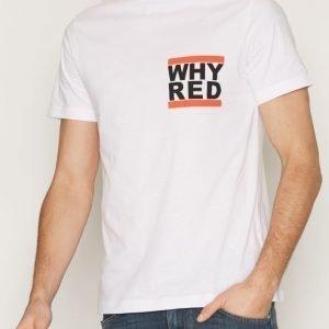 Whyred Art Dmc T-paita Valkoinen