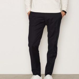 Whyred Cron Cotton Stretch Pant Housut Navy