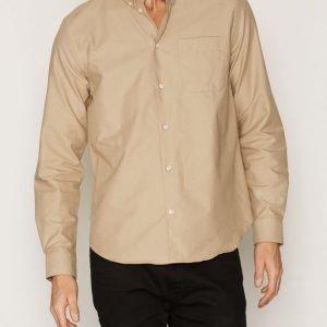 Whyred Mills Shirt Kauluspaita Khaki