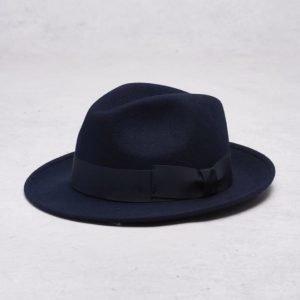 Wigéns Fedora Classic Hat 069 Navy