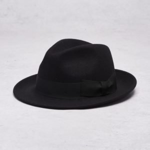 Wigéns Fedora Classic Hat 099 Black